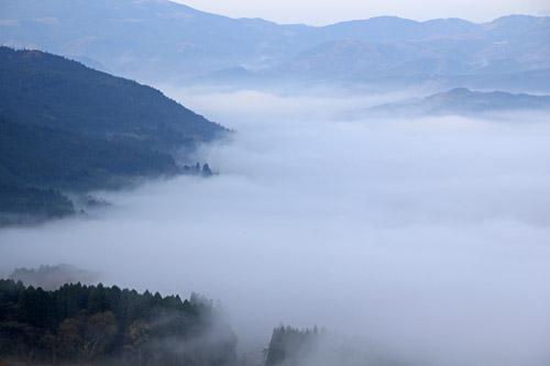 湯布院の雲海