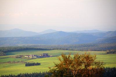 白金地区共同利用模範牧場