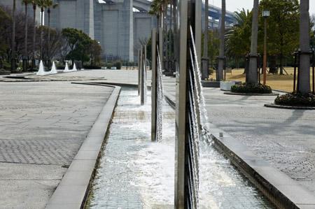 瀬戸大橋記念公園噴水