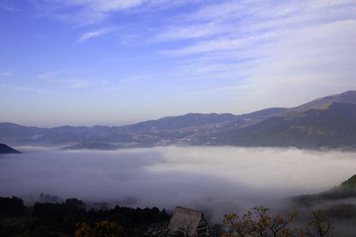 狭霧台の雲海