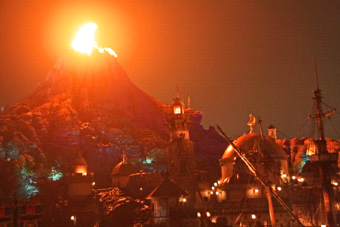 プロメテウス火山噴火