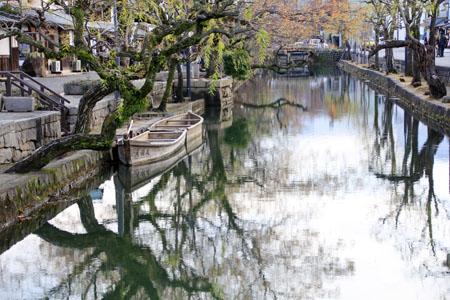 倉敷美観地区の水郷
