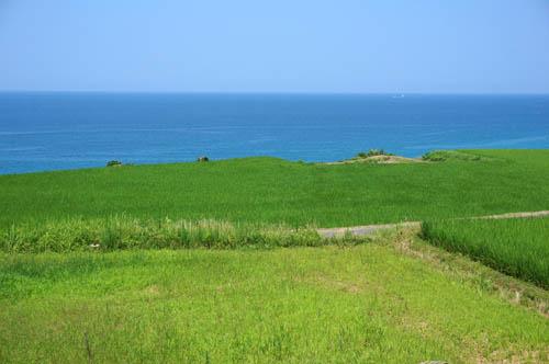 夏の日本海と田