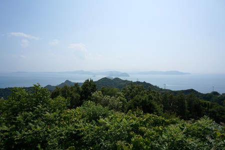 大鳴門橋記念館からの鳴門海峡