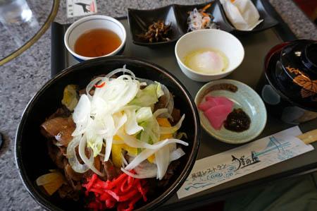 絶景レストランうずの丘淡路島牛丼