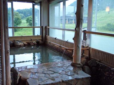 白馬アルプスホテル半露天風呂