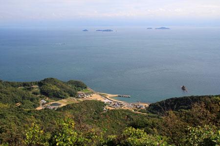 亀老山展望公園から見下ろす瀬戸内海
