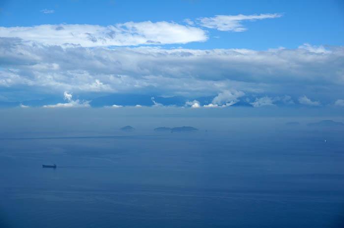 亀老山展望公園からの瀬戸内海