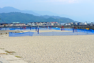 五色姫海浜公園ビーチバレー