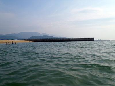 五色姫海浜公園海水浴場