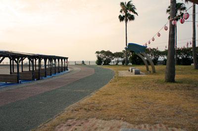 五色姫海浜公園海水浴場納涼席