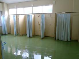 五色姫海浜公園海水浴場シャワー室