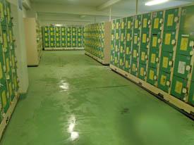 五色姫海浜公園海水浴場ロッカールーム更衣室
