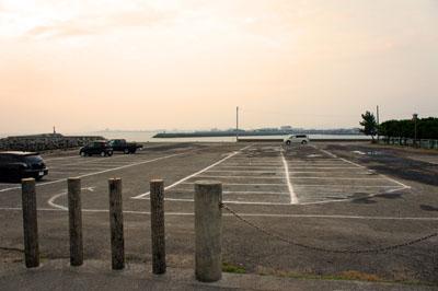五色姫海浜公園海水浴場駐車場