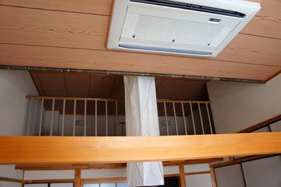 民宿名駒ロフト付き和室