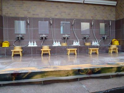 民宿名駒洗い場