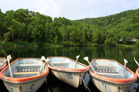 木戸池ボート
