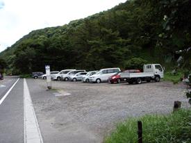 由布岳登山口駐車場