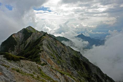 大山剣ヶ峰と烏ヶ山
