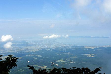 大山からの日本海