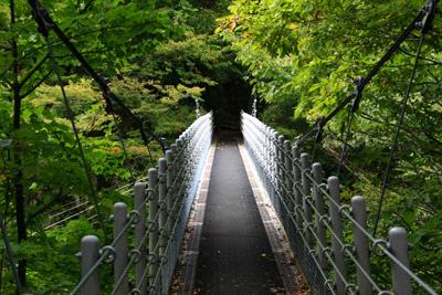 大山滝吊橋