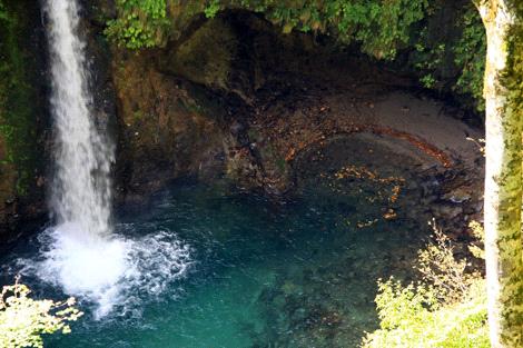 大山滝滝壷