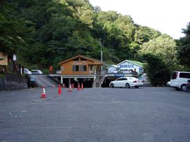 見の越の駐車場