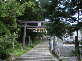 剣神社鳥居