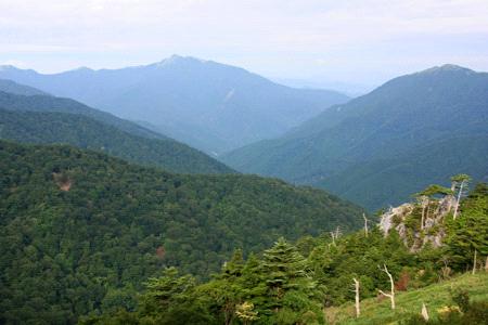 三嶺と祖谷川