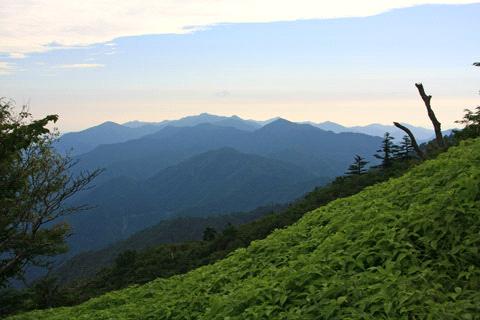 剣山からの展望