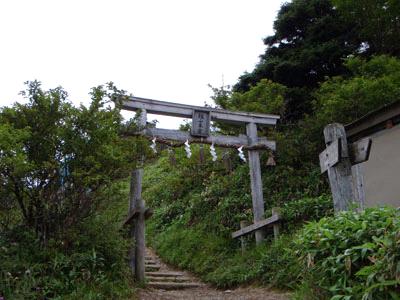 剣山本宮の鳥居