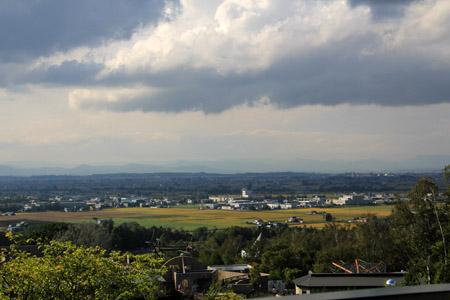 旭山動物園からの眺め