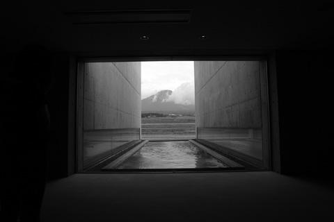 植田正治美術館からの大山