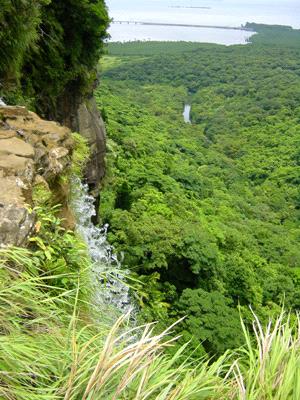 ピナイサーラの滝上部