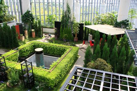 奇跡の星の植物館癒しの庭