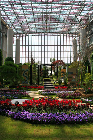 奇跡の星の植物館フラワーショースペース