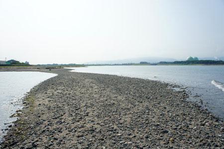 重信川河口砂州