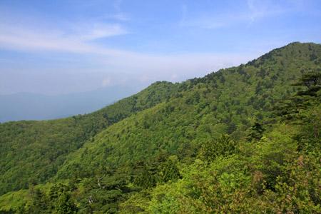 東赤石山登山