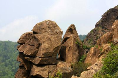 東赤石山岩稜
