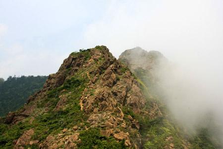 赤石山岩稜