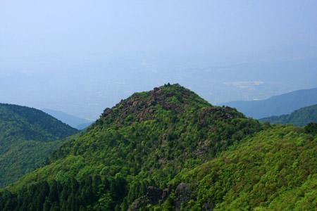 西赤石山からの兜岩