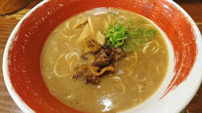 麺王の徳島ラーメン