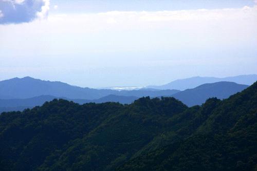 伊予富士からの太平洋