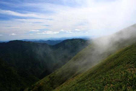 伊予富士と雲