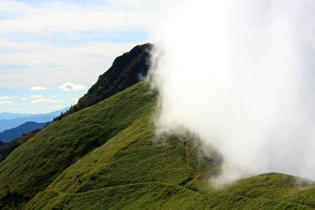 伊予富士と雲海
