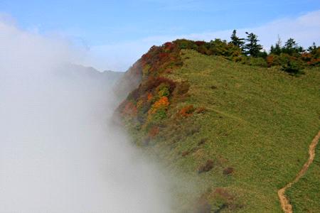 伊予富士稜線と雲海