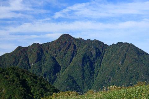 桑瀬峠からの西黒森