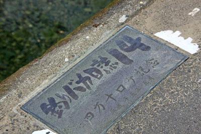 勝間沈下橋釣りバカ日誌
