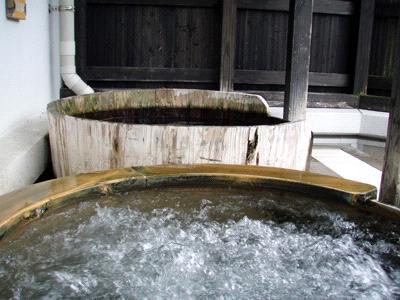 森の国ぽっぽ温泉露天風呂
