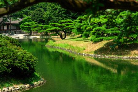 栗林公園南湖